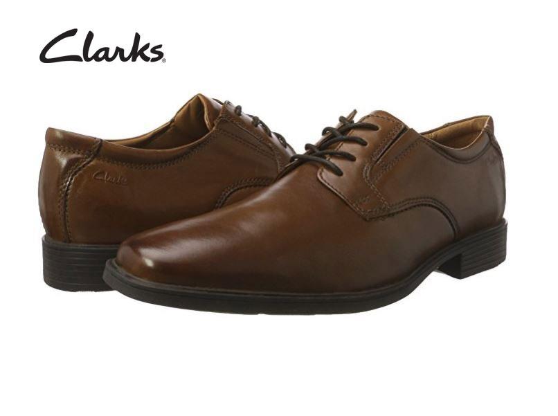 Zapatos de cuero para hombre baratos Clarks