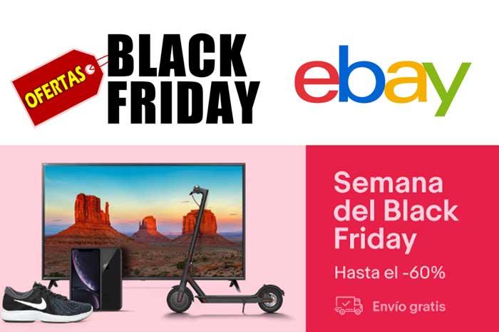 a3032cd6c6 Los mejores chollos de Black Friday ¡Hasta -60% descuento y envío GRATIS en  eBay!