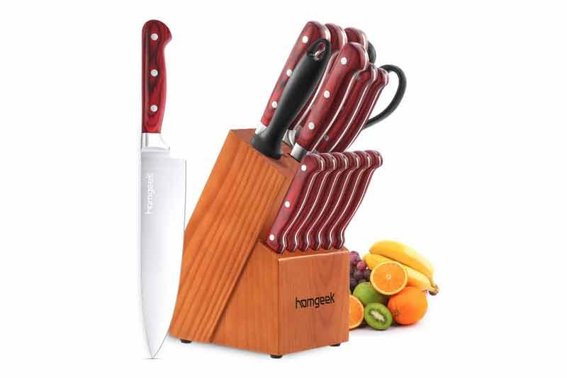 cuchillos de cocina Homgeek
