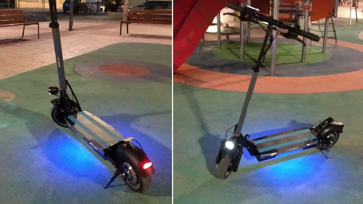 Smartgyro Speedway v2.0 luces
